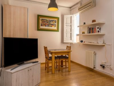 Photo for Apartment 985 m from the center of Barcelona with Lift, Internet, Washing machine, Air conditioning (125389)