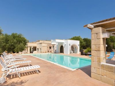 Photo for 813 Villa with Pool and two Guesthouses in Ostuni
