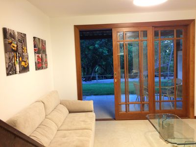 Photo for Praia do Forte, Complete apartment, 110m2, 2 suites, 6 people
