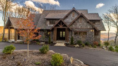 Photo for Four Seasons - LUXURY! Stunning Views, Great for Large Families, Hot Tub, Outdoor Fireplace!