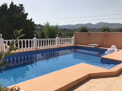 Photo for Tranquil Villa Pandora in Calpe within easy reach of the town and beaches