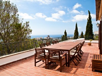 Photo for Great house in the bay of Palma with fantastic views