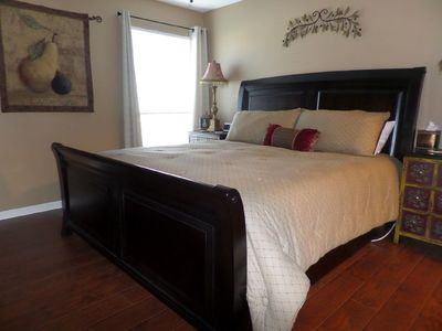 Photo for Comfort AND Class!!  Luxury at it's Finest!  King Condo Retreat FREE WIFI & HBO!