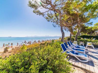 Photo for Playa de Muro Holiday Home, Sleeps 6 with Air Con and WiFi