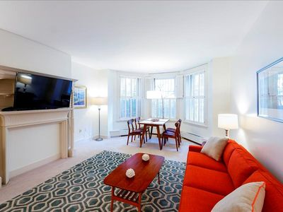 Photo for Back Bay Boston Furnished Apartment Rental - 387 Commonwealth Avenue Unit B