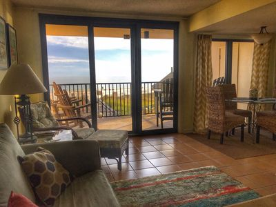 Photo for Easy Breezy Walk Up 2nd Floor Unit Amazingly Close to the Beach and Pool