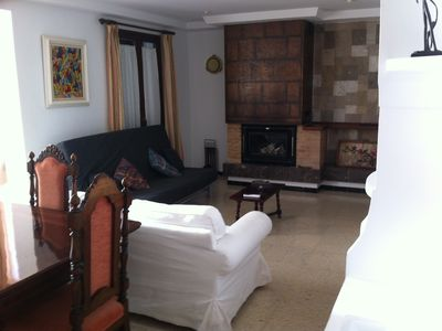 Photo for 140m2 apartment with a fireplace for 10 people