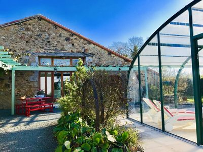 Photo for Charming converted stables,heated pool,free Wifi,rural setting & close to it all