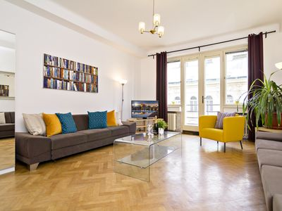 Photo for 3 BR 4 minutes walk from Wenceslas Square