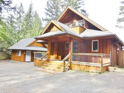 Photo for Private Cabin with Hot Tub and Great Views of Mt. Rainier