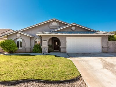 Photo for On the Greenbelt,  1720 SQ FT,  3 Bed, 2 Bath, 1 King, 1 Queen, 2 Twins (2893