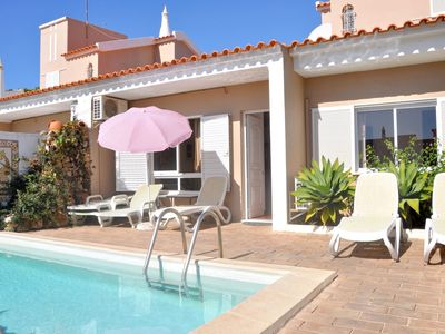 Photo for Villa Horacio with private swimming pool is located near the center of Vilamoura