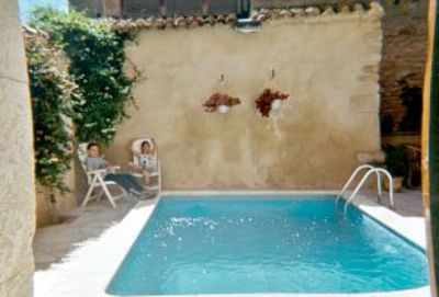 Photo for Spacious 18th century village house + courtyard with pool, plus games room