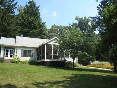 Photo for Charming Cottage on 10 Acres of Land