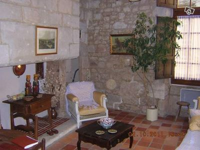 Photo for Stone apartment for 2 historic street and quiet Perigueux