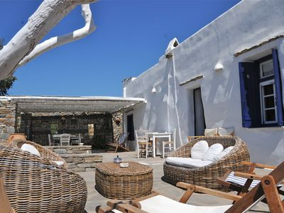 Photo for PAROS : Spacious cycladic house