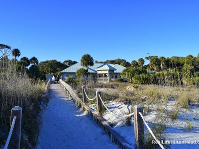 Photo for NO FEES-July13-20, 2019 Shipyard/Spinnaker-Beach/Pool/Golf(included)-2 Bdrm Cond