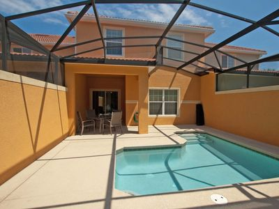 Photo for GATED RESORT COMMUNITY, SOUTH FACING POOL, DISNEY KIDS THEME ROOM, FREE WIFI!!