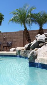 Photo for Very Private Orchard Backyard/Pool- 4 Bdrm (2 King/1 Q/1 D) 6 max.
