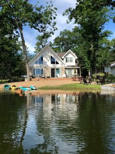 Photo for Reduced Rates for Fall/Winter - Cottage on sandy bottom little island lake