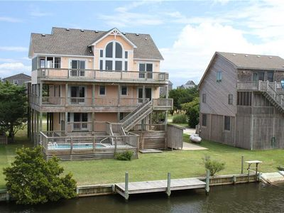 Photo for Catch of the Day  CANALFRONT w/Pool&HotTub, RecRoom, Pets