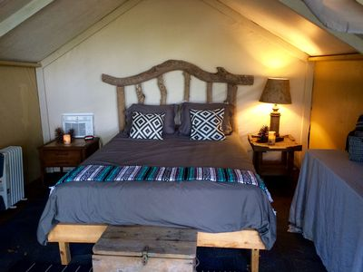 Photo for Riverfront Glamping Tent on Ocklawaha River!