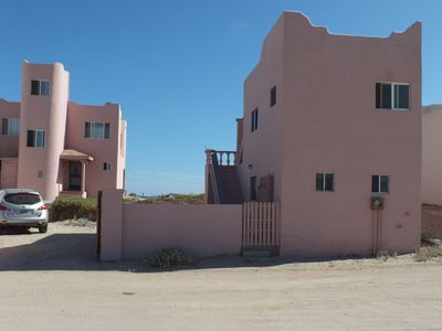 On the left the Main Casa, on the right The Casita