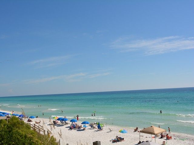 Gulf-Side Condo with Wonderful Gulf Views in the heart of Seagrove!