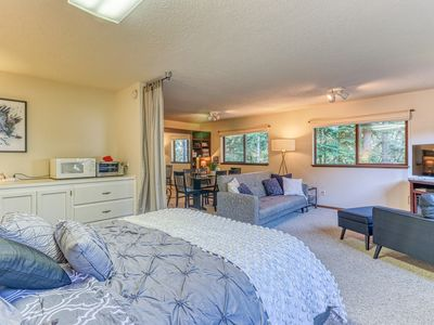 Photo for NEW LISTING! Sophisticated suite w/ a kitchenette & easy beach access!