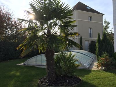 Photo for 1BR Apartment Vacation Rental in Magny-le-Hongre, Île-de-France