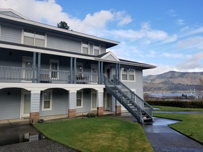 Photo for 2 Bedroom Condo, Blocks From Downtown Hood River with River Views