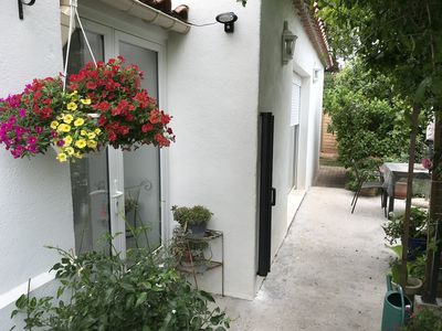 Photo for Holiday accommodation in a charming house a few minutes walk from the sea.