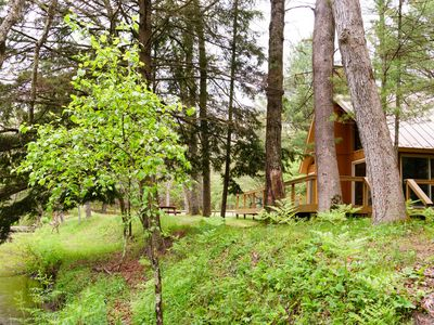 Photo for Cannon River Ranch Cabin 2: 3 BR Cabin- Fish, Kayak, Canoe the PM! (Sleeps 8)