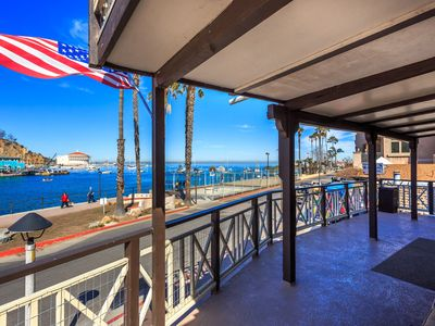 Photo for AVALON'S ONLY WATERFRONT BEACH HOUSE! Best Location! Best Views! Best Deck!