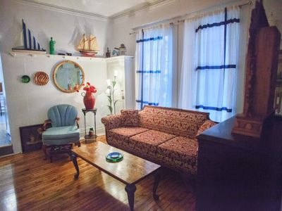 Photo for Beautiful Antique furnished apartment next to the Lachine canal.Close to airport