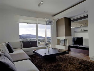 Photo for Villa Naiada with view of the sea and the mountains