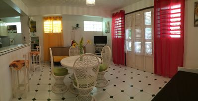 Photo for 1BR Villa Vacation Rental in LE MOULE