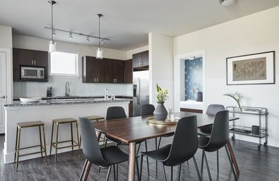 Photo for Domio   Theater District   Spacious 2BR   Skyline Pool