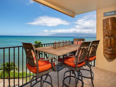 Photo for Oceanfront condo with gorgeous views & shared pool - half-mile to the beach