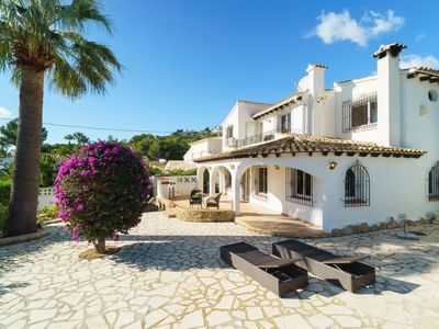 Photo for Vacation home Casa Papallona  in Moraira, Costa Blanca - 6 persons, 3 bedrooms