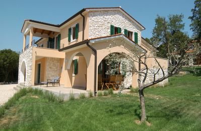 Photo for Holiday house in country style with magnificent view of the Adriatic Sea