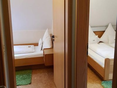 Photo for Family Standard courtyard side with shower / WC - Weinhotel Klostermühle