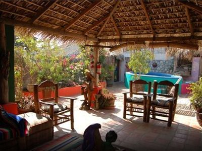 Photo for Cabo San Lucas Traditional GuestHouse walking distance to Medano Beach 2 Twin Bd