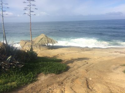 Photo for LA JOLLA BEACH GEM WINDANSEA BUNGALOW BEACH ONE BLOCK AWAY WITH GARAGE GARDEN !
