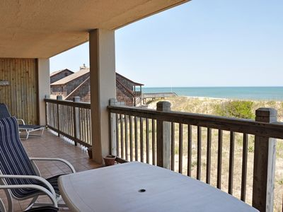 Photo for Mermaids Cove: Oceanfront condo, community pool, large balcony.