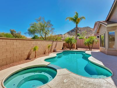 Photo for Stunning 4 bed/3 bath home w mountain view & ample indoor/outdoor entertainment!