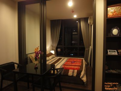 Photo for 1 BR Luxury condo at The Line Sukhumvit 71