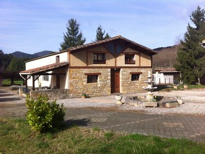 Photo for Spacious 3 Bed Gite, Arques, Aude, Pool, Hot Tub and Free Wi-fi. Tour de France!