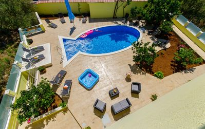 Photo for Apartment Petra 3 with swimming pool
