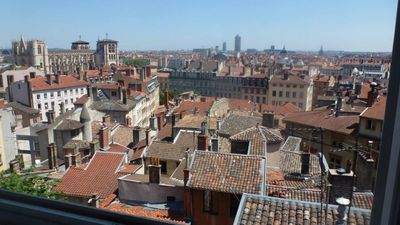 Photo for Old Lyon: beautiful apartment 125 m2 / 180 views / Garden